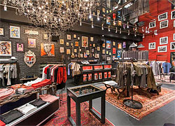 John Varvatos store on Lincoln Road