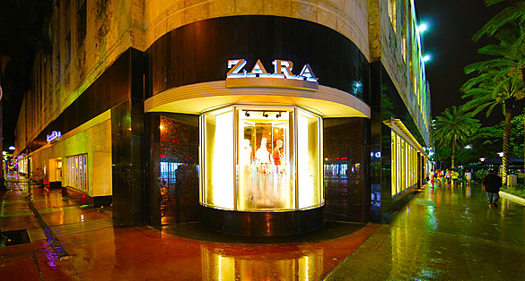 Zara on Lincoln Road Mall